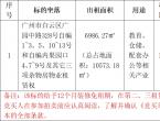 【拍卖公告】白云区广园中路328号物业租赁权联合拍卖公告