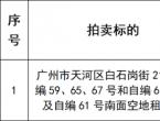 【拍卖公告】天河区白石岗街21号部门租赁权